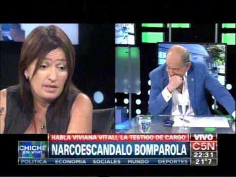 C5N -  POLICIALES: NARCOESCANDALO BOMPAROLA