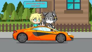 Car moment // Gachaverse (I suck at doing the lines for each parts)