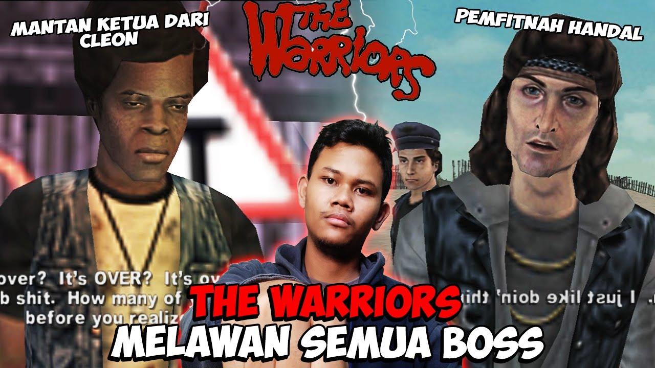 Geng THE WARRIORS Melawan Semua Boss - The Warriors (Hardcore Soldier) PS2