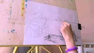 Как нарисовать закат,как нарисовать корабль,карандаши(, 2015-07-14T17:35:42.000Z)