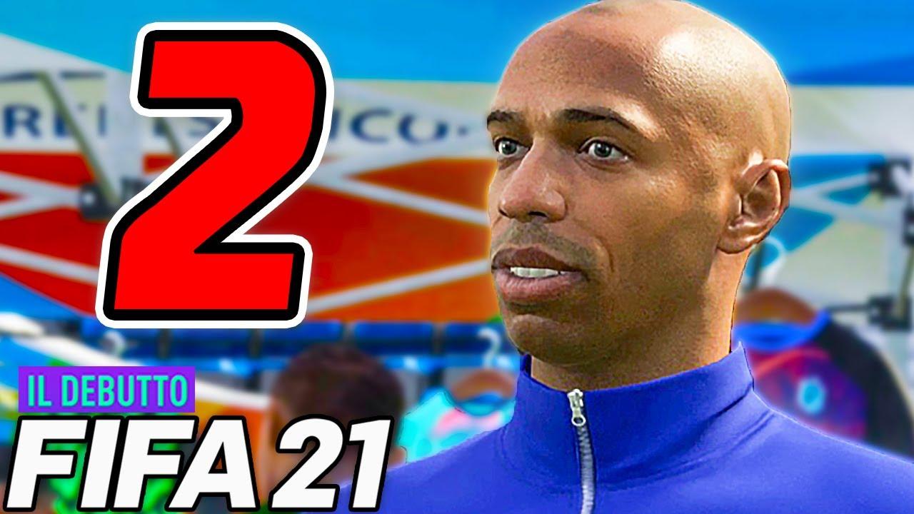 HO INCONTRATO HENRY!! ICONE a DUBAI - FIFA 21 THE DEBUT [Walkthrough Gameplay ITA HD - PARTE 2]