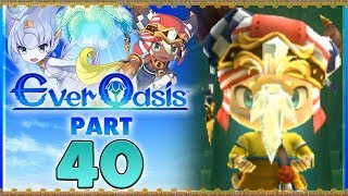 Ever Oasis - Part 40   Great Sage Thoth & White Lumite! [New Nintendo 3DS Gameplay]