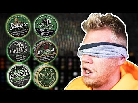 Blind Wintergreen Dip Taste Test