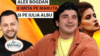 Alex Bogdan ii imita pe Maruta si pe Iulia Albu!