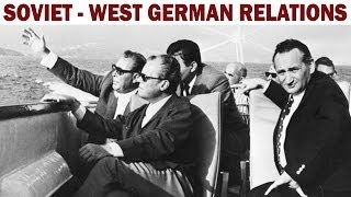 Soviet - West German Gas Pipeline | 1970 Documentary on the Soviet Union - West Germany Relations