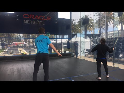 Oracle NetSuite Open 2018 Live with the players