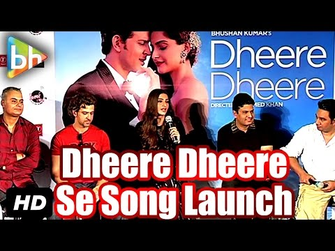 Dheere Dheere OFFICIAL Song Launch | Hrithik Roshan | Sonam Kapoor | Yo Yo Honey Singh | Neeraj Roy