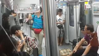 How it feels in Shanghai metro.