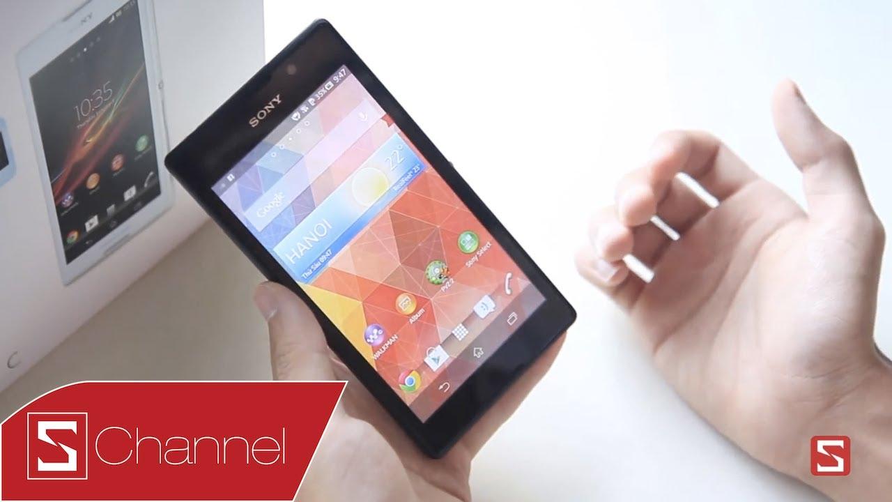 Schannel – Đánh giá chi tiết Xperia C: Giá tốt so với cấu hình – CellphoneS