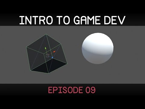 Introduction to Game Development (E09: space, parenting, rotation)