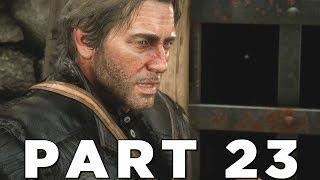 RED DEAD REDEMPTION 2 Walkthrough Gameplay Part 23 - JAILBREAK (RDR2)