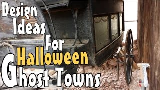 DIY Halloween Decoration Ideas & Inspirations For Old Western Ghost Town Wagons & Hearses