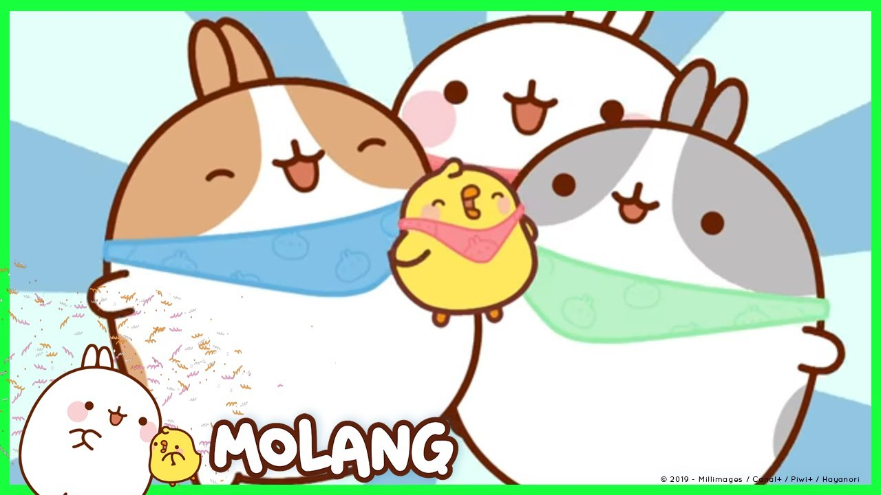 molang the bandanna cartoon for kids youtube. Black Bedroom Furniture Sets. Home Design Ideas