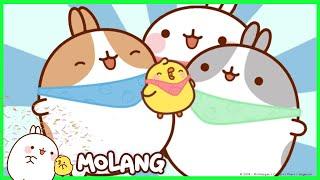 Molang - The Bandanna | Cartoon for kids