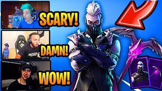 STREAMERS REACT to *NEW* SANCTUM SKIN!!! (EPIC) Fortnite FUNNY & EPIC Moments