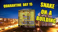 Quarantine day 15 - Playing snake on a building