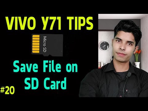 Vivo Y71 Tips | Save Your Video Music Any File Direct On SD Card | #20