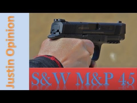 Smith & Wesson M&P 45: Range review