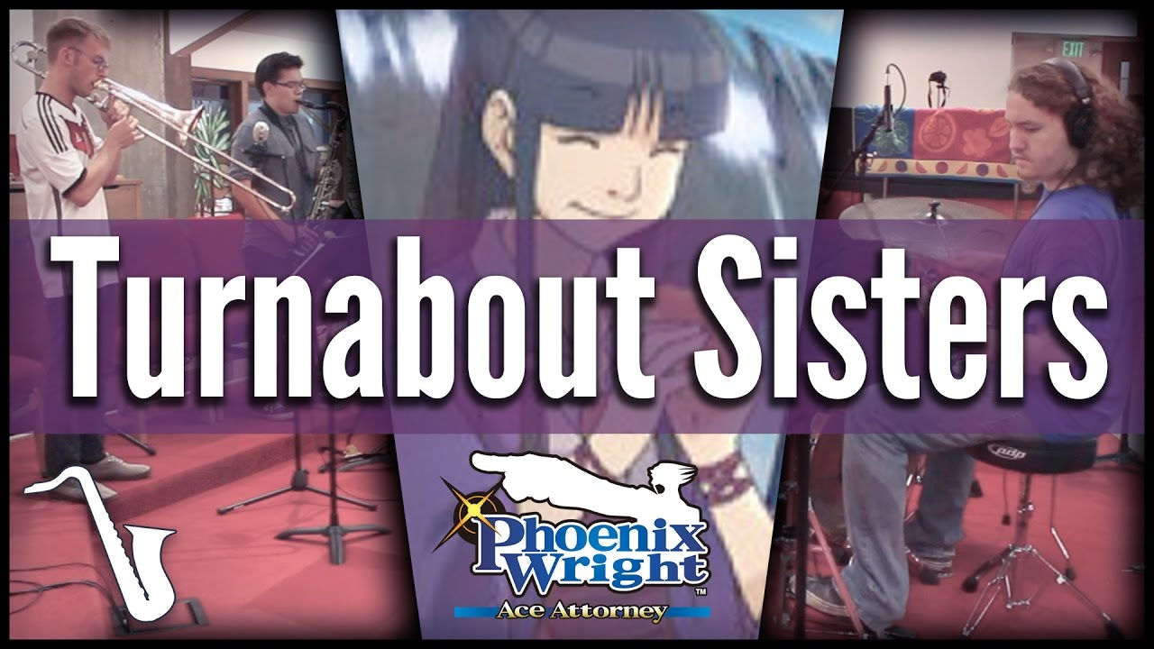Ace Attorney: Turnabout Sisters - Jazz Cover || from