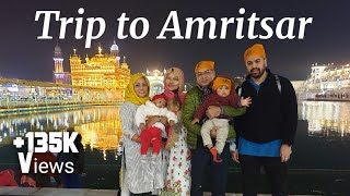 First family trip to Amritsar for wedding