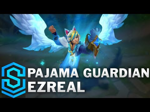 Pajama Guardian Ezreal Skin Spotlight - Pre-Release - League of Legends