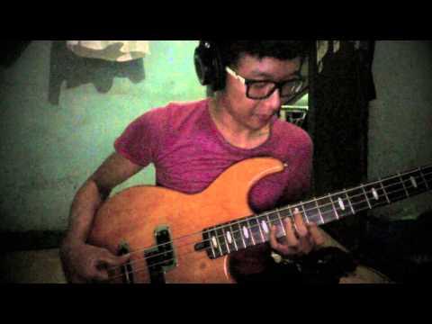 Gita Gutawa - Rangkaian Kata (bass cover)