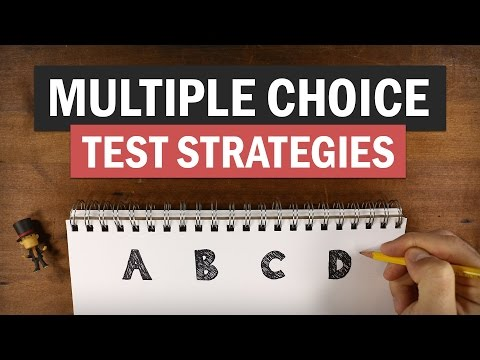 5 Rules (and One Secret Weapon) for Acing Multiple Choice Tests