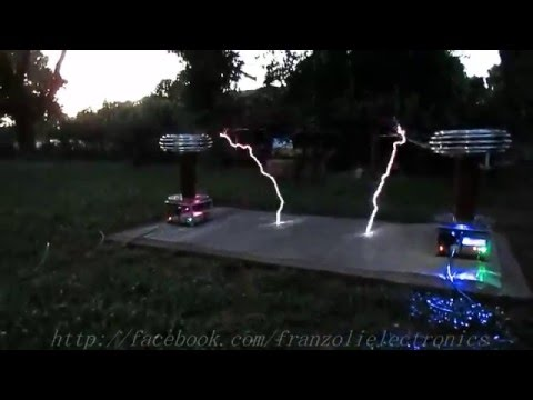 Dr. Who Theme on Musical Tesla Coils