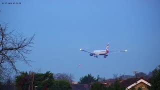 British Airways #BA52 declared an emergency and requested priority landing at LHR