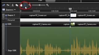 Camtasia 7 урок 3. Как обрезать видео, улучшить звук, приблизить-отдалить видео