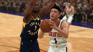 NBA Today 1/22 Phoenix Suns vs Indiana Pacers Full Game Highlights | NBA 2K