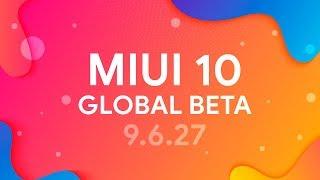 👉 Miui 10 Global Beta 9.6.27 - ОБЗОР ПРОШИВКИ  НА ПУТИ К Miui 11 🤔