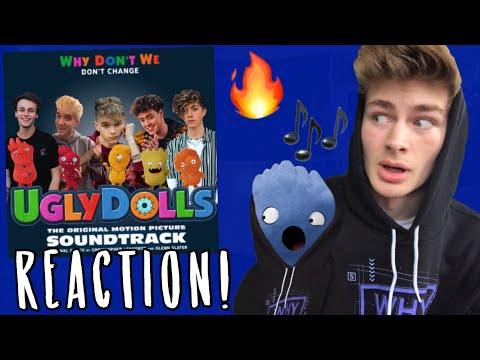 "Why Don't We - ""Don't Change"" REACTION!"