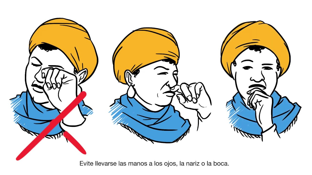 Coronavirus (COVID-19): How to protect yourself and stop the spread of the virus (Spanish)