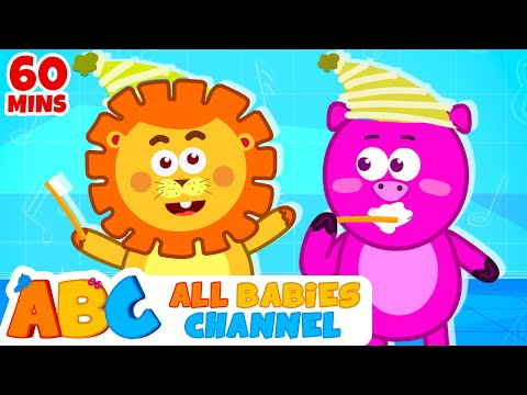 This Is The Way We Brush Our Teeth | Nursery Rhymes | Songs for Children | All Babies Channel