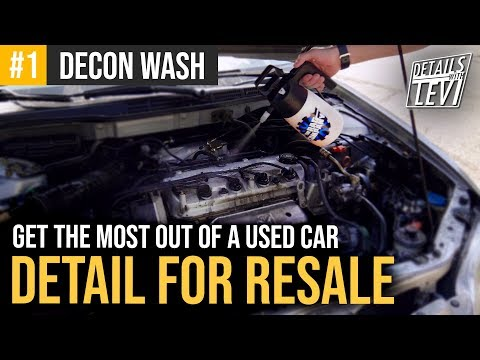 RESALE DETAIL: Making The Most Of A Cheap Used Car! | Exterior Wash & Vac | DETAILS WITH LEVI from YouTube · Duration:  11 minutes 11 seconds
