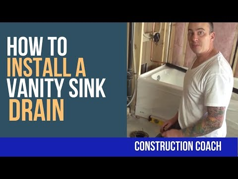 how-to-install-a-vanity-sink-drain---diy