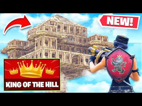 *NEW* KING-OF-THE-HILL V2 Custom Gamemode In Fortnite Playground Mode! (Battle Royale)