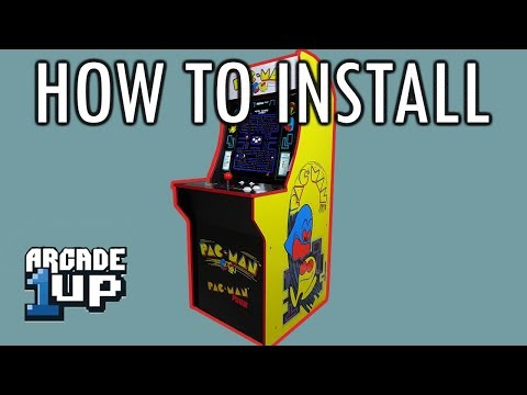 Arcade1Up PacMan Install Tutorial And UNBOXING