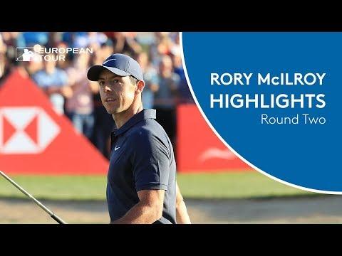 Rory McIlroy Highlights | Round 2 | 2018 Abu Dhabi HSBC Golf Championship