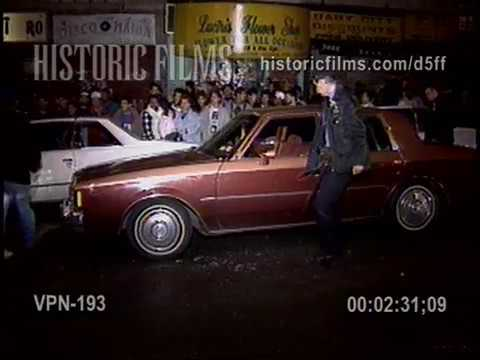 DRIVE BY SHOOTING BROADWAY AND 162 STREET, MANHATTAN - 1990