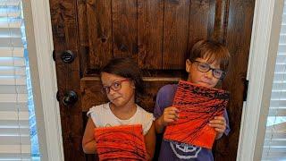 The twins try pendulum art