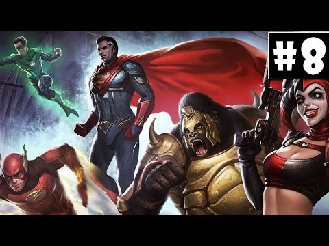 Injustice 2 - Walkthrough - Part 8 - Goddes Of War | Wonder Woman (PS4 HD) [1080p60FPS]