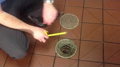 Drain-Net Floor Drain Strainers for Restaurants