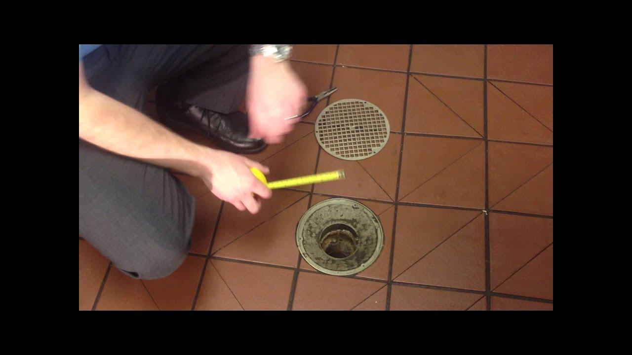 DrainNet Floor Drain Strainers for Restaurants  YouTube