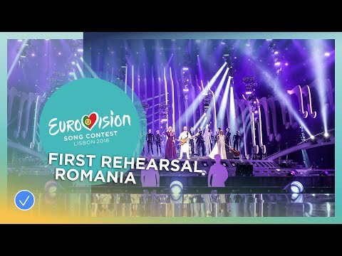 The Humans - Goodbye - First Rehearsal - Romania - Eurovision 2018