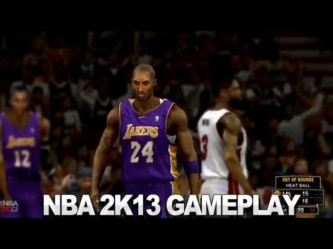 NBA 2K13 Gameplay - Lakers vs. Heat