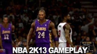 NBA 2K13 Gameplay - Lakers vs. Heat
