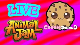 Play Animal Jam LIVE With Cookieswirlc Saturday June 6th - Game Play 2 PM