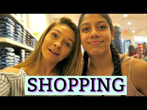 SHOPPING AT THE MALL! MY FIRST TIME BALLET CLASS!